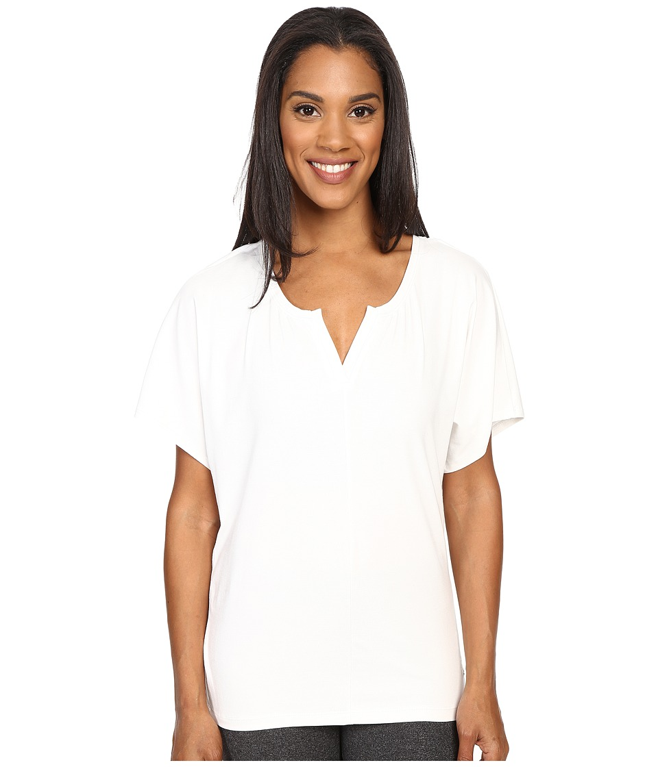 FIG Clothing - Vib Top (Natural) Women's Short Sleeve Pullover
