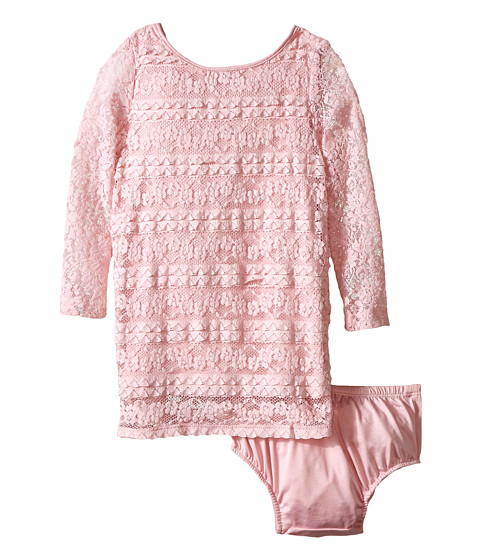 Lucky Brand Kids - Kingston Dress (Toddler) (Cameo Pink) Girl's Dress
