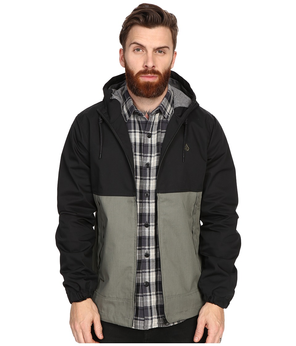 Volcom - Bueno Jacket (Black) Men's Coat