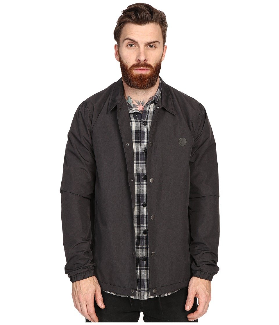 Volcom - Eastend Jacket (Black) Men's Coat