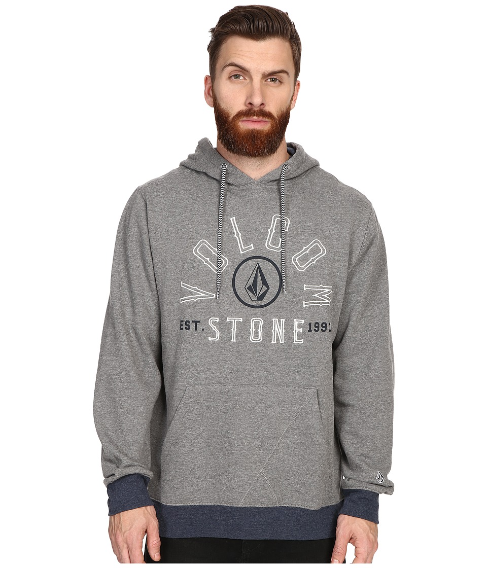 Volcom - Taboos Pullover (Heather Grey) Men's Fleece