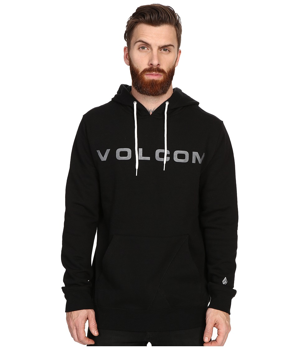 Volcom - Certified Pullover (Black) Men's Fleece