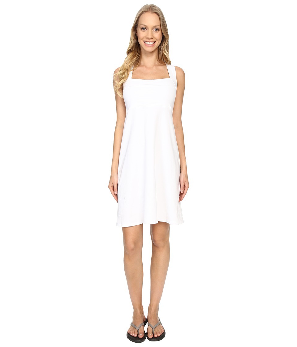 FIG Clothing - Hux Dress (White) Women's Dress