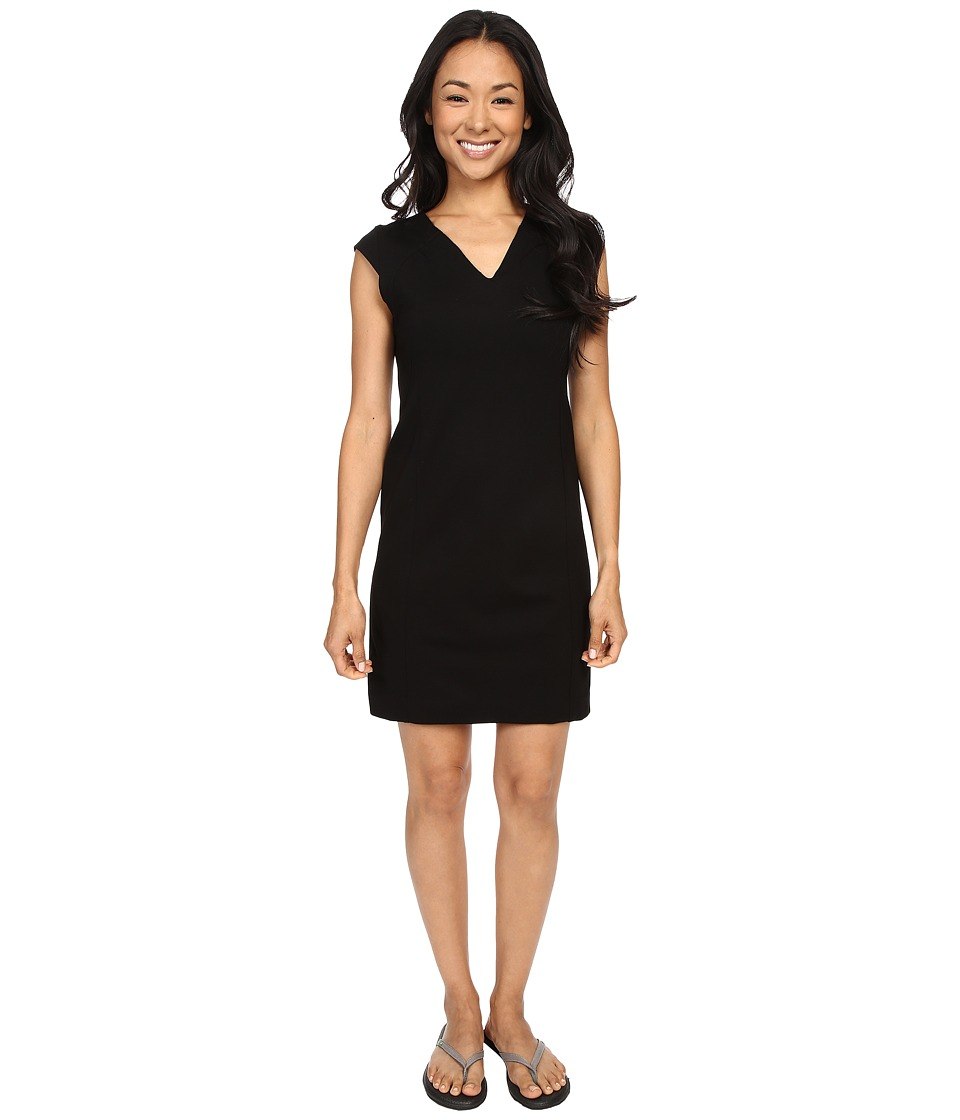 FIG Clothing - Poa Dress (Black) Women's Dress