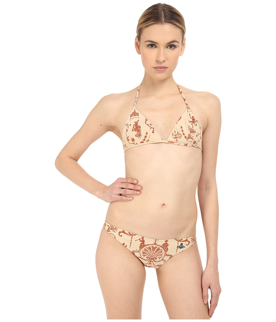 Vivienne Westwood - Eve Bikini (Terracotta) Women's Swimwear Sets