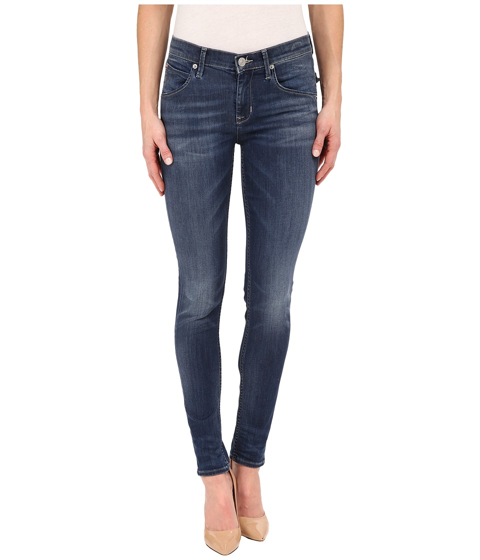 Hudson - Lilly Mid-Rise Ankle Skinny in Indigo Aster (Indigo Aster) Women's Jeans