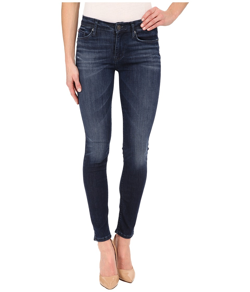 Hudson - Nico Mid-Rise Super Skinny in Electric Clover (Electric Clover) Women's Jeans
