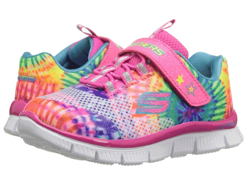 SKECHERS KIDS - Skech Appeal 81851N (Toddler) (Multi) Girl's Shoes