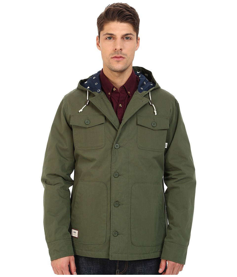 Vans - Lismore Deluxe (Surplus Green) Men's Jacket