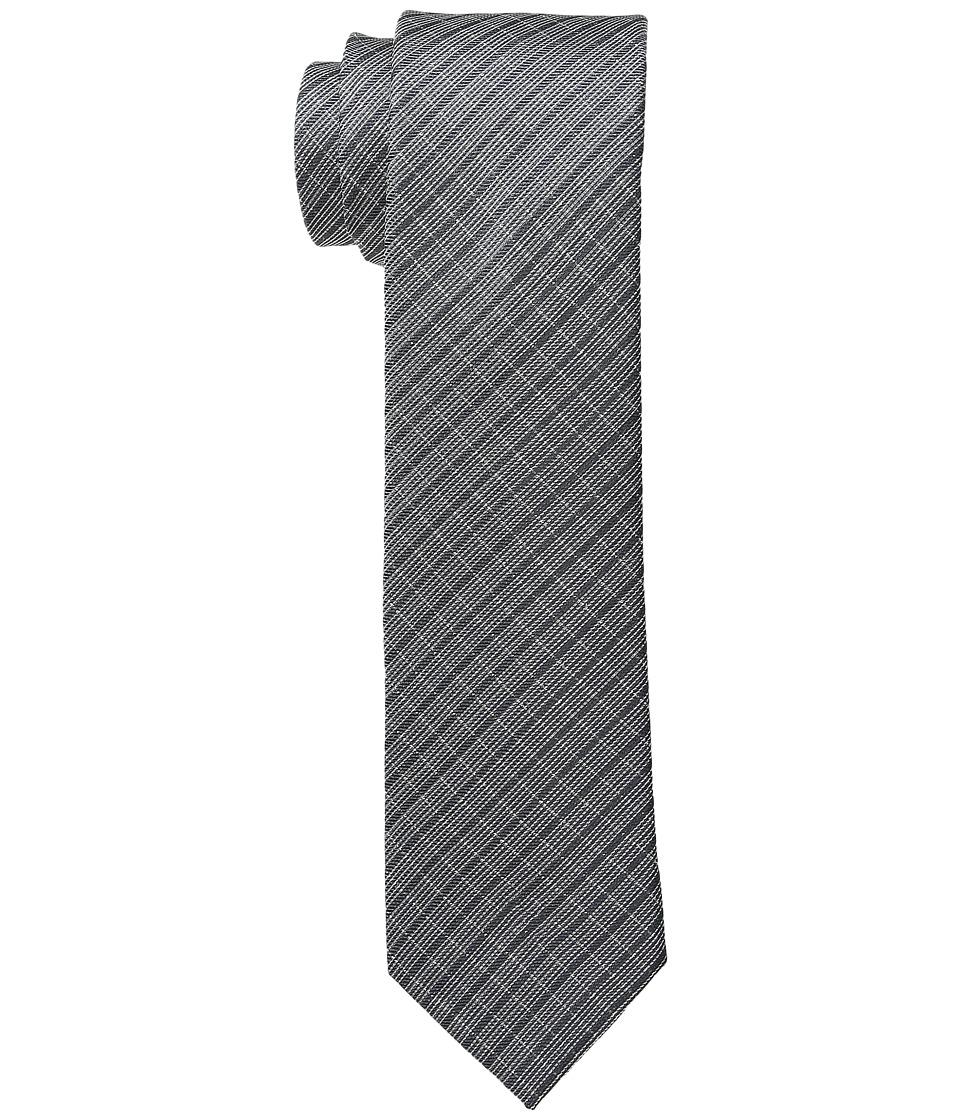 Calvin Klein - University Grid (Black) Ties