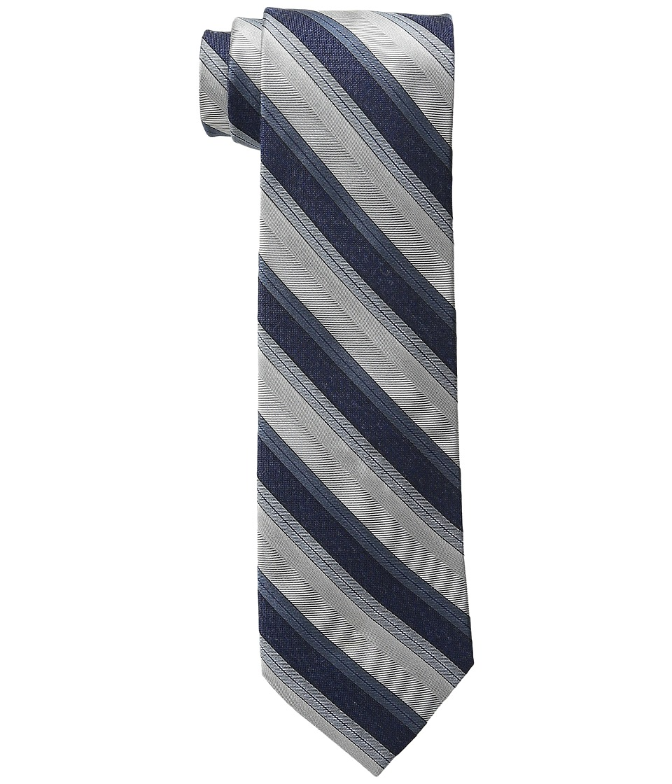 Calvin Klein - Platinum Halo Stripe (Lilac) Ties