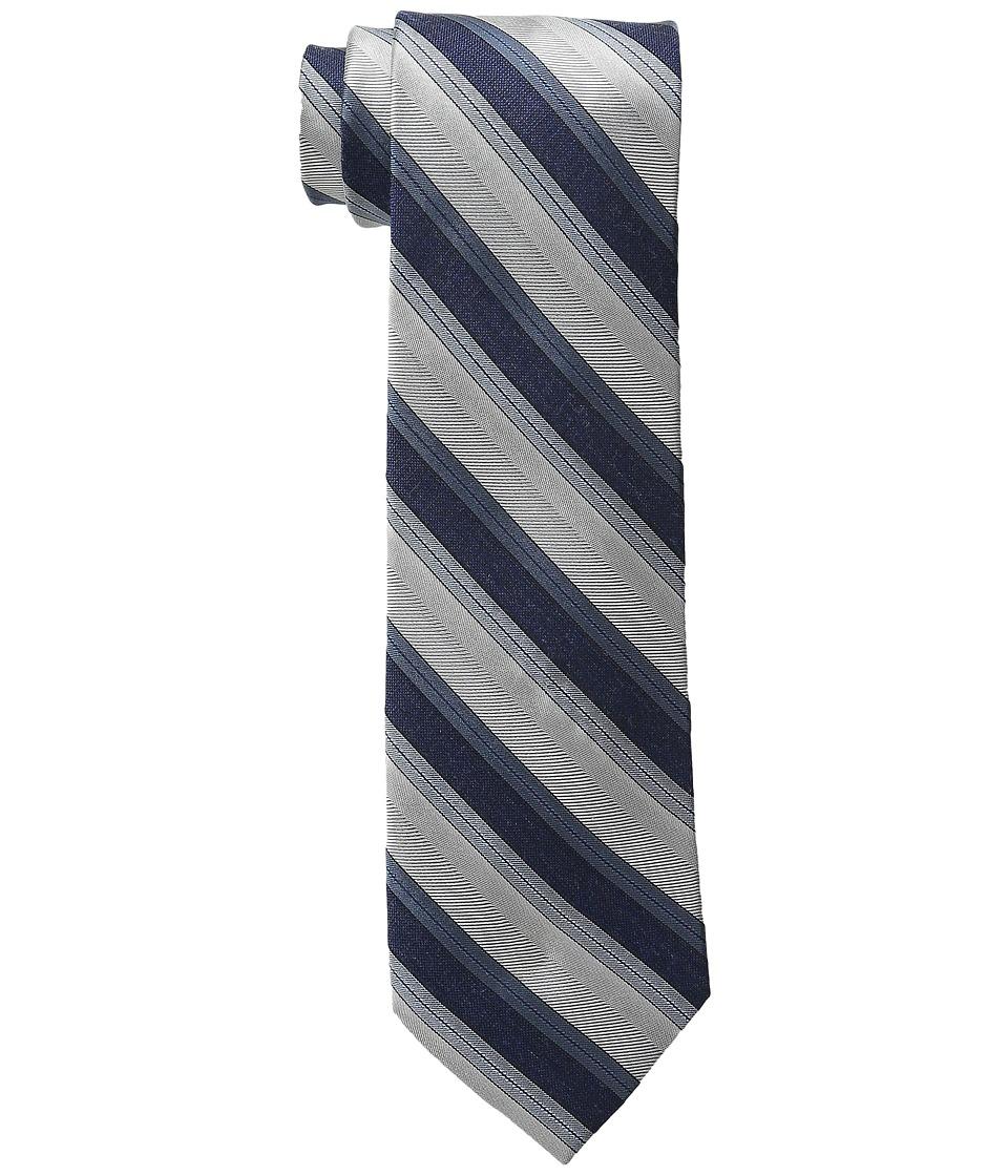 Calvin Klein - Platinum Halo Stripe (Ice Blue) Ties