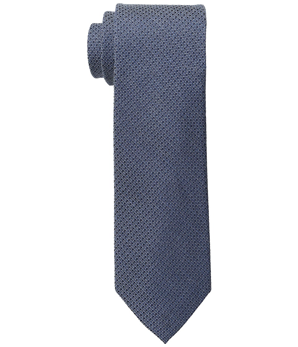 Calvin Klein - Knitex Unsolid (Slate Blue) Ties