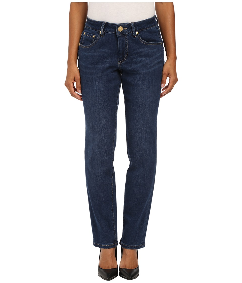 Jag Jeans Petite - Petite Patton Straight in Blue Shadow Republic Denim (Blue Shadow) Women's Jeans