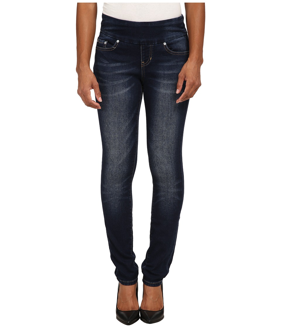 Jag Jeans Petite - Petite Nora Skinny in Blue Ridge Knit Denim (Blue Ridge) Women's Jeans