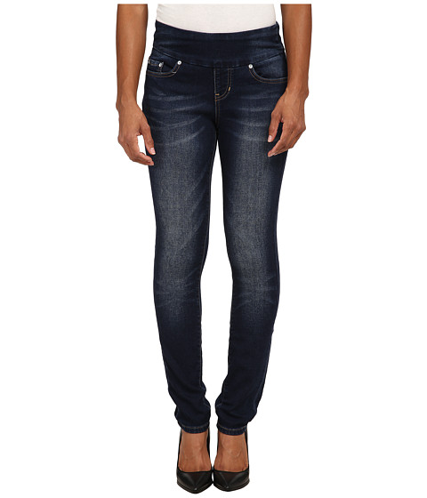 Jag Jeans Petite - Petite Nora Skinny in Blue Ridge Knit Denim (Blue Ridge) Women