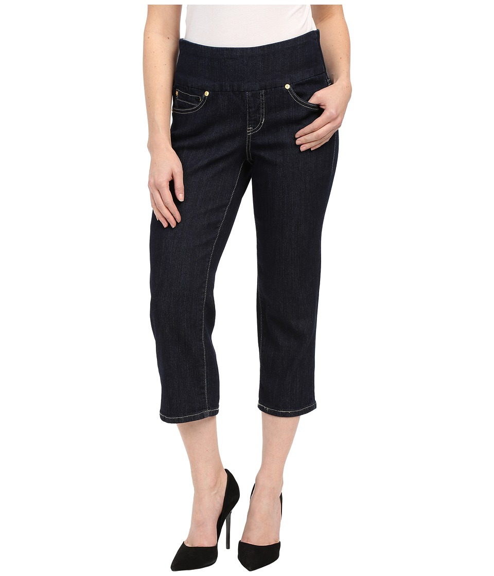 Jag Jeans Petite - Petite Echo Crop in Dark Shadow Comfort Denim (Indigo) Women's Jeans