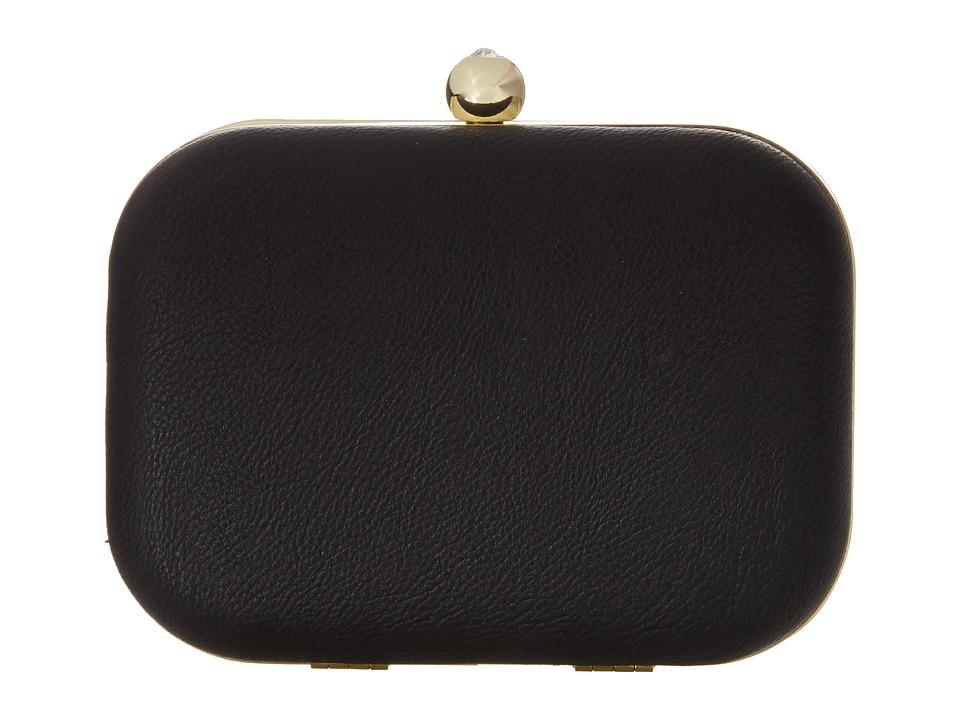 Jessica McClintock - Pheonix Minaudie (Black) Clutch Handbags
