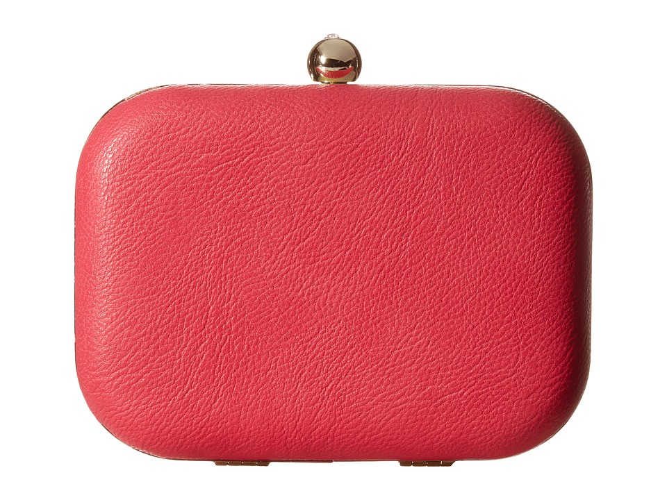Jessica McClintock - Pheonix Minaudie (Pink) Clutch Handbags
