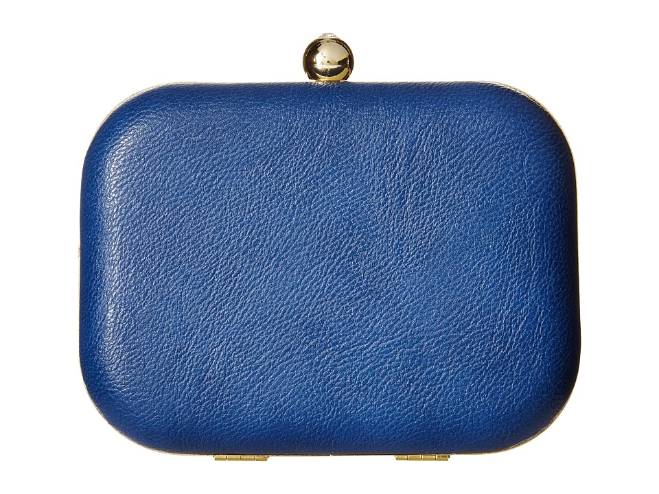 Jessica McClintock - Pheonix Minaudie (Navy Blue) Clutch Handbags