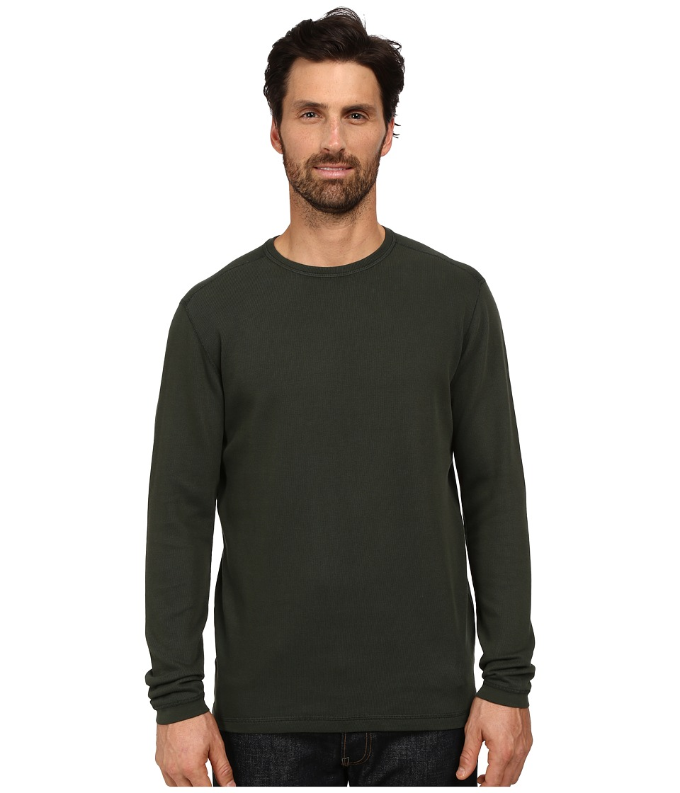 Agave Denim - Long Sleeve Crew Rib (Rosin) Men's Long Sleeve Pullover