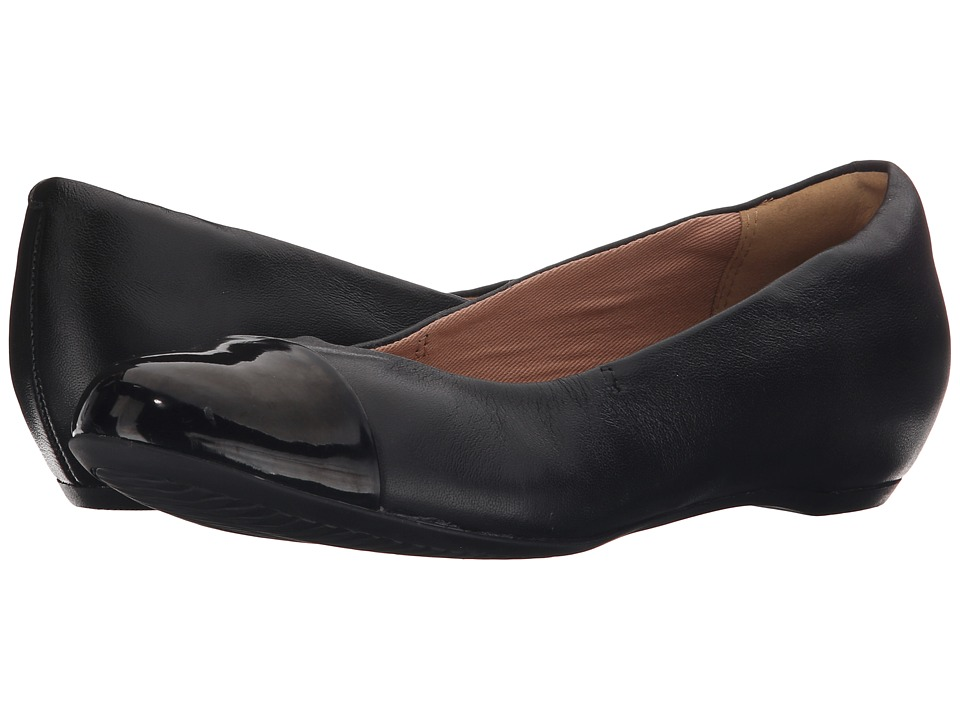Clarks Alitay Susan (Black Leather) Women