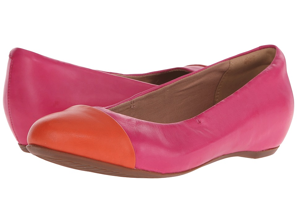 Clarks Alitay Susan (Fuchsia Leather) Women