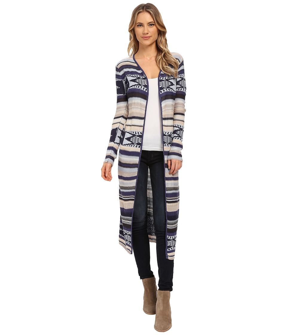 Billabong - Fade To Dusk Cardigan (Midnight) Women