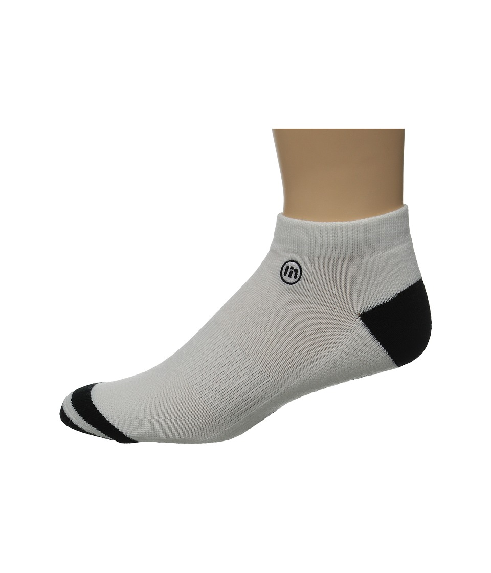 TravisMathew - Low Pro Socks (White) Men's Low Cut Socks Shoes