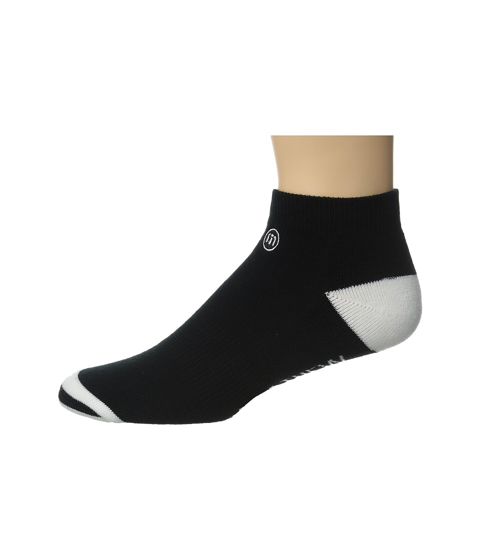 TravisMathew - Low Pro Socks (Black) Men's Low Cut Socks Shoes
