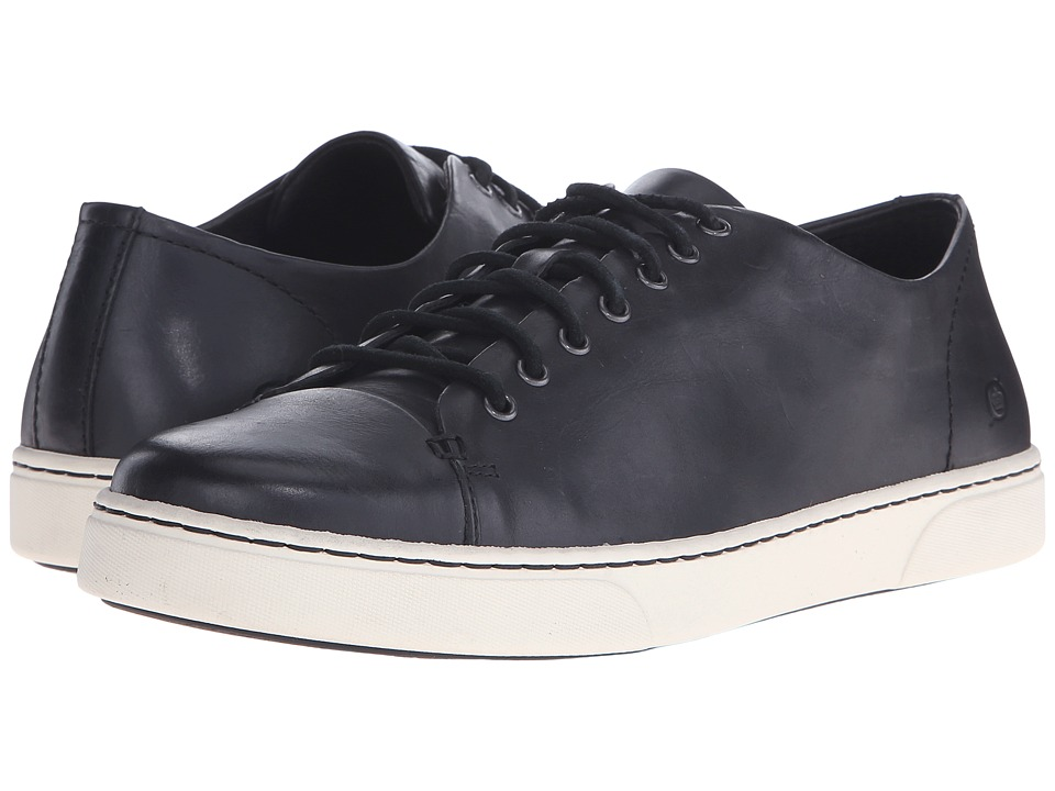 Born - Bayne (Black Full Grain Leather) Men's Lace up casual Shoes