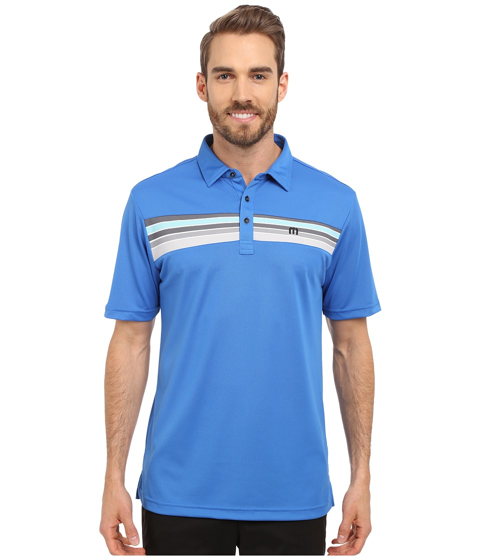 TravisMathew - Stines Polo (Daphne) Men's Short Sleeve Pullover