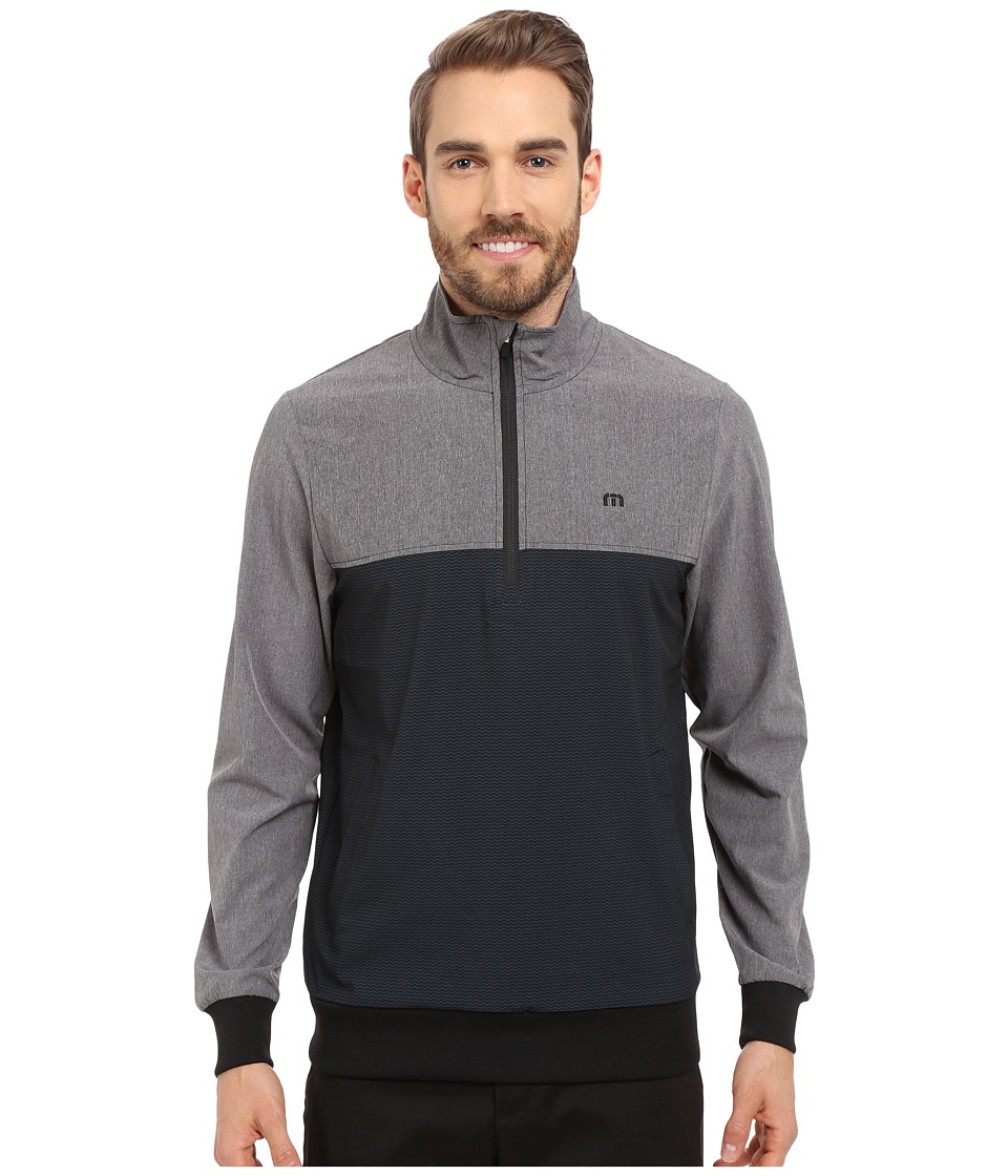 TravisMathew - Wahoo Jacket (Black Castlerock) Men's Jacket