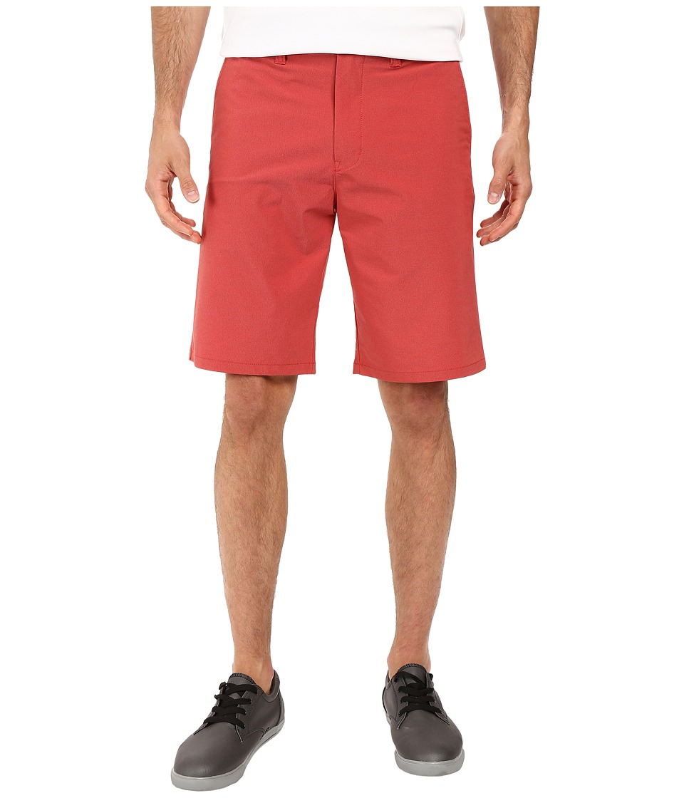 TravisMathew - Hefner Short (Red) Men's Shorts