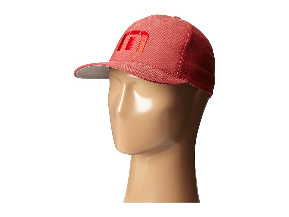 TravisMathew - Hawthorne Hat (Red) Caps