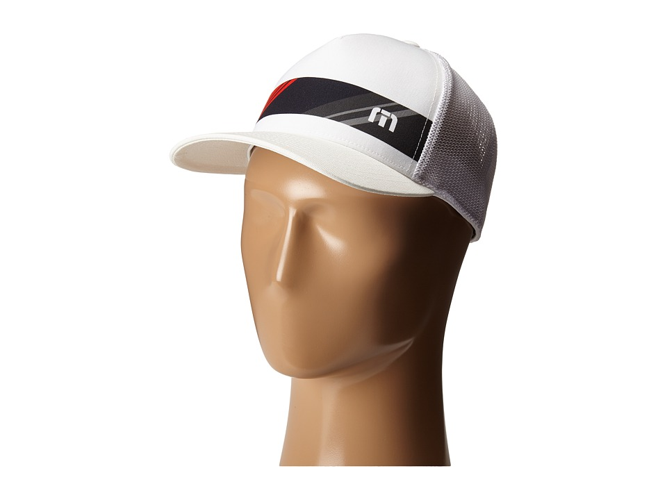 TravisMathew - Bankston Hat (White) Caps