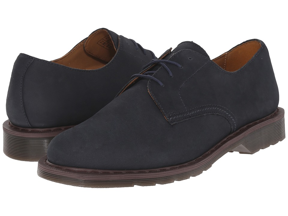 Dr. Martens - Octavius 4-Eye Shoe (Navy Kaya) Men's Lace up casual Shoes