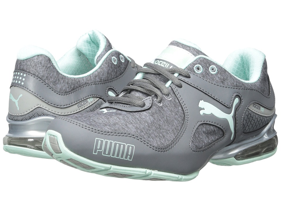PUMA - Cell Riaze Heather (Steel Grey/Drizzle/Bay) Women