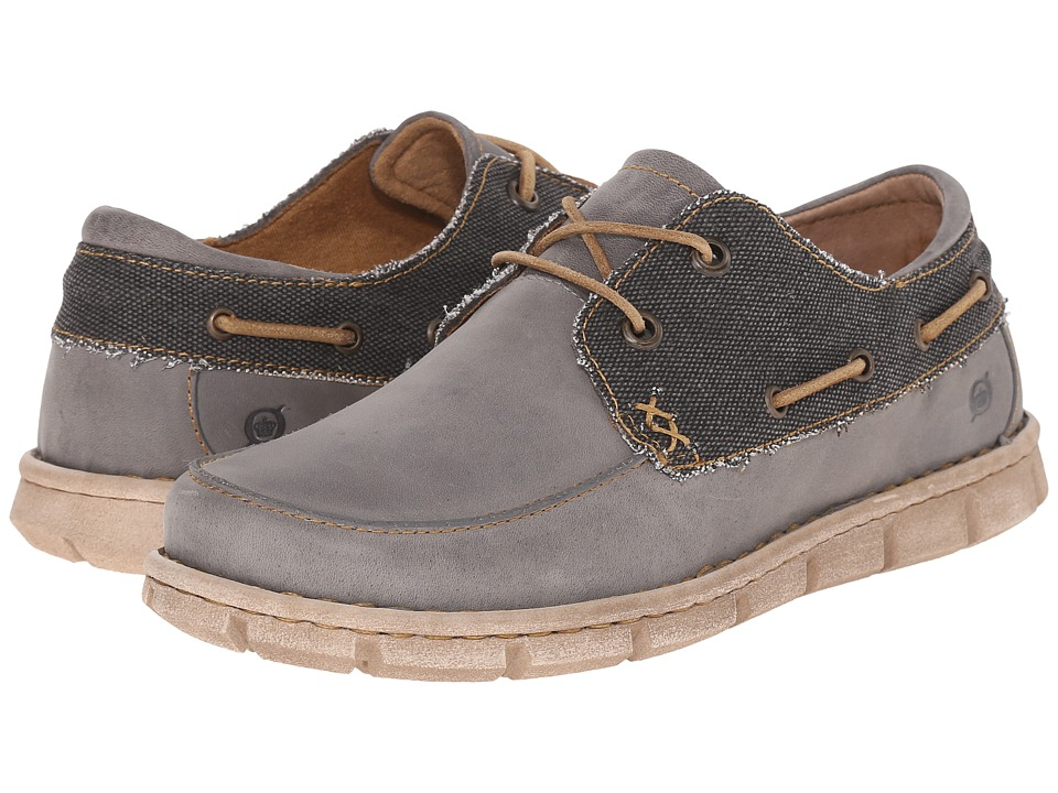 Born - Chad (Grey/Deep Grey) Men's Shoes
