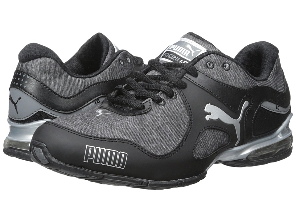PUMA - Cell Riaze Heather (Black/Steel Grey) Women's Shoes