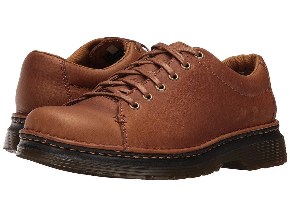 Dr. Martens - Healy 6-Tie LTT Shoe (Tan/Biscuit Grizzly/Hi Suede WP) Men's Lace up casual Shoes