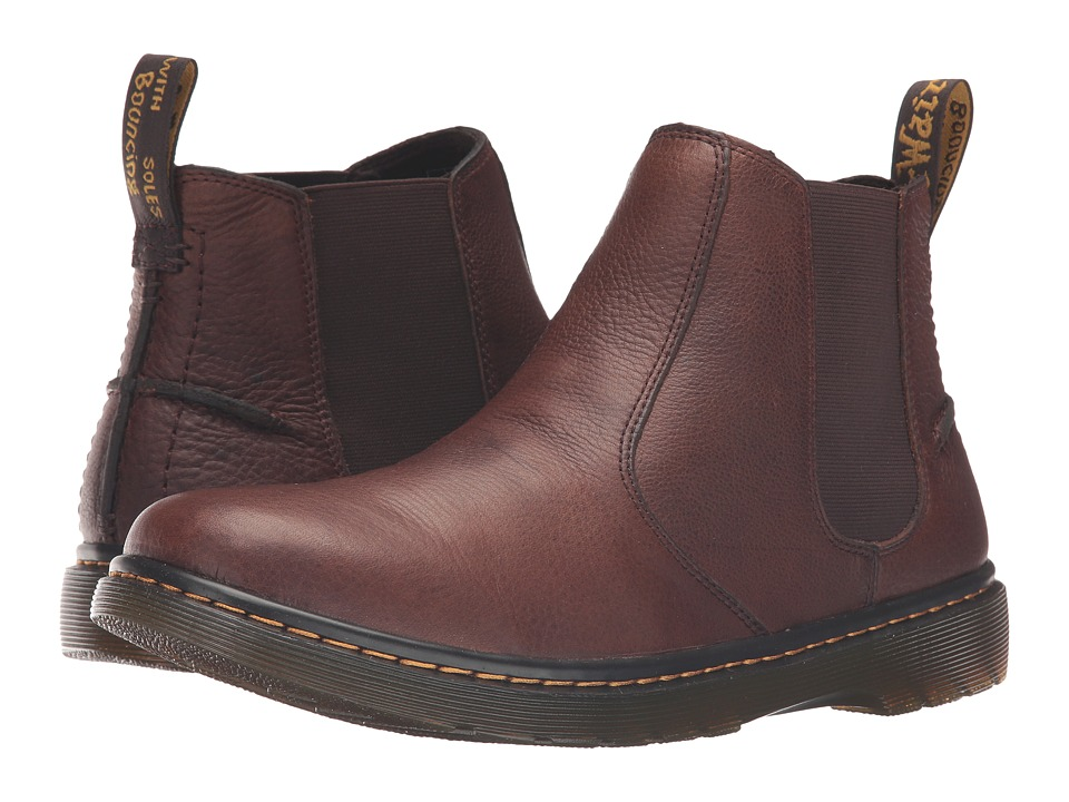 Dr. Martens - Lyme Chelsea Boot (Dark Brown Grizzly) Men's Pull-on Boots