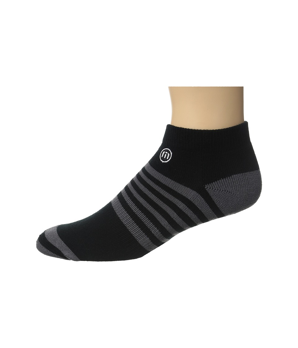 TravisMathew - All Days Socks (Black) Men's Crew Cut Socks Shoes