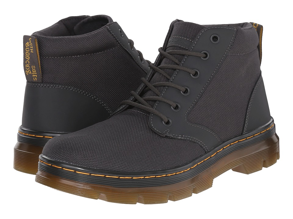 Dr. Martens - Bonny Chukka Boot (Charcoal/Extra Tough Nylon/Rubbery) Men's Lace-up Boots