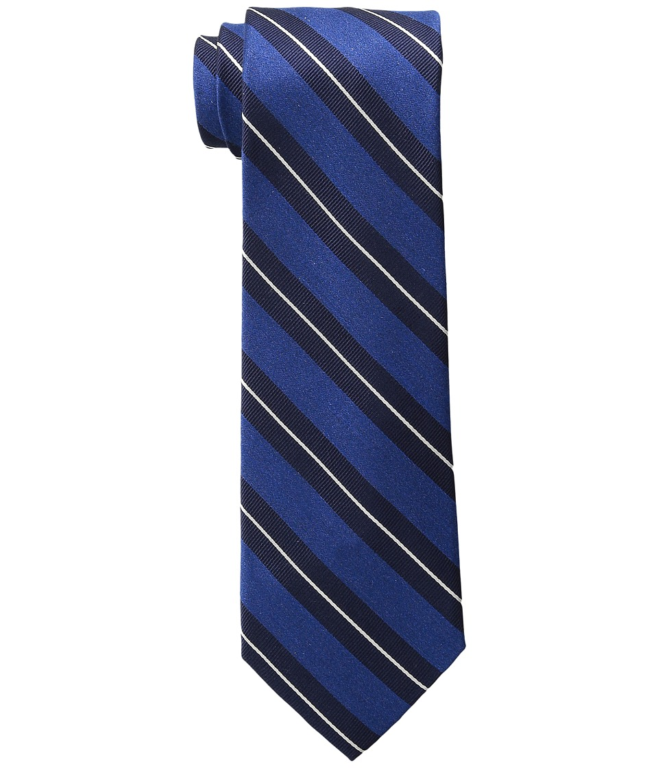 Tommy Hilfiger - Autumn Stripe 2 (Dark Navy) Ties