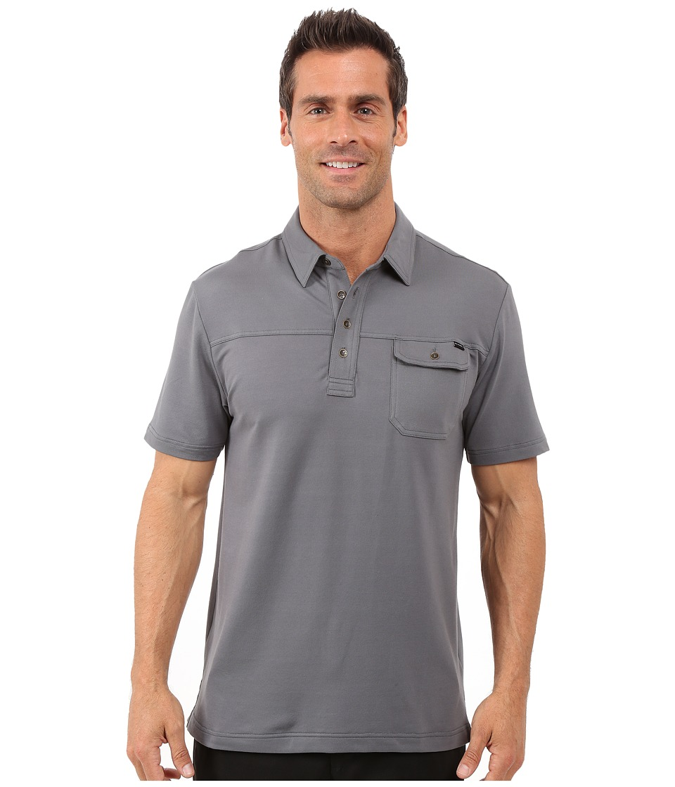 TravisMathew - Gore Polo (Castlerock) Men's Short Sleeve Pullover