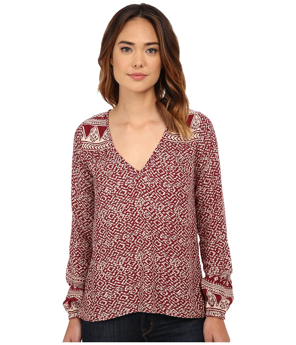 Billabong - Eternal Winter Top (Black Cherry) Women's Clothing