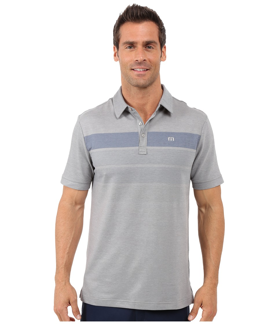 TravisMathew - Close Out Polo (Lunar Rock Castlerock) Men's T Shirt