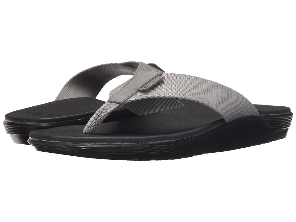 Dr. Martens - Mana Toe Post (Grey Webbing) Men's Sandals