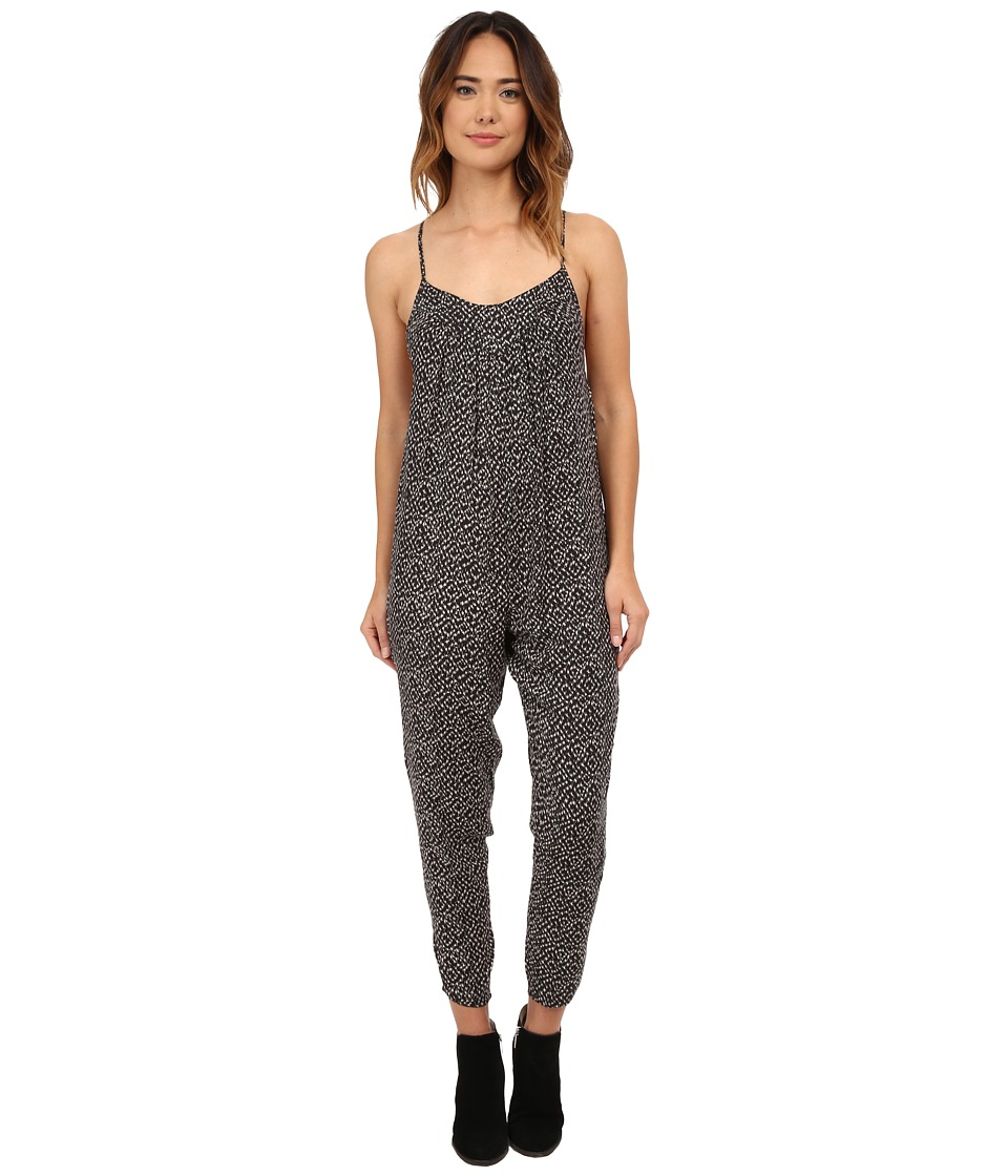 Billabong - Hideaway Jumpsuit (Off Black) Women's Jumpsuit & Rompers One Piece